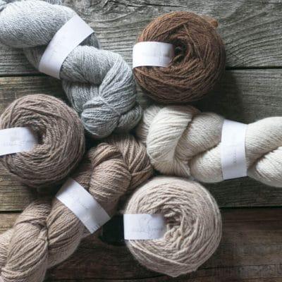 laine alpaga à tricoter couleurs naturelles dk