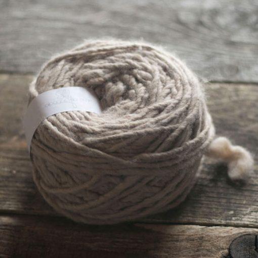 balle laine fil alpaga fauve clair