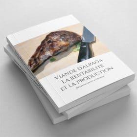 document viande alpaga rentabilité production
